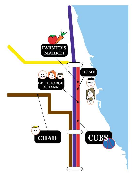 g's train map