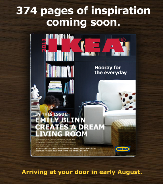 New Ikea Catalog Coming Soon