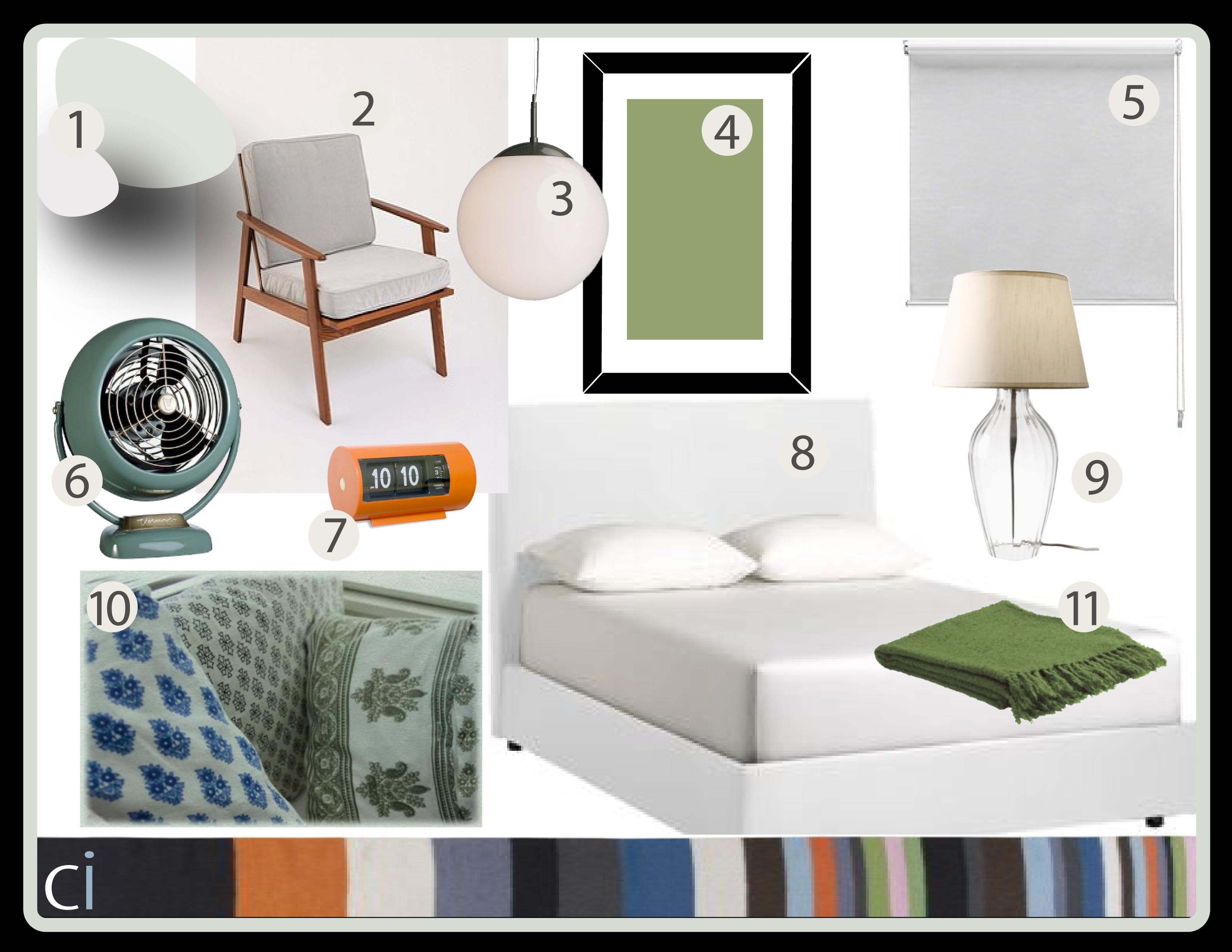Bedroom Mood Board