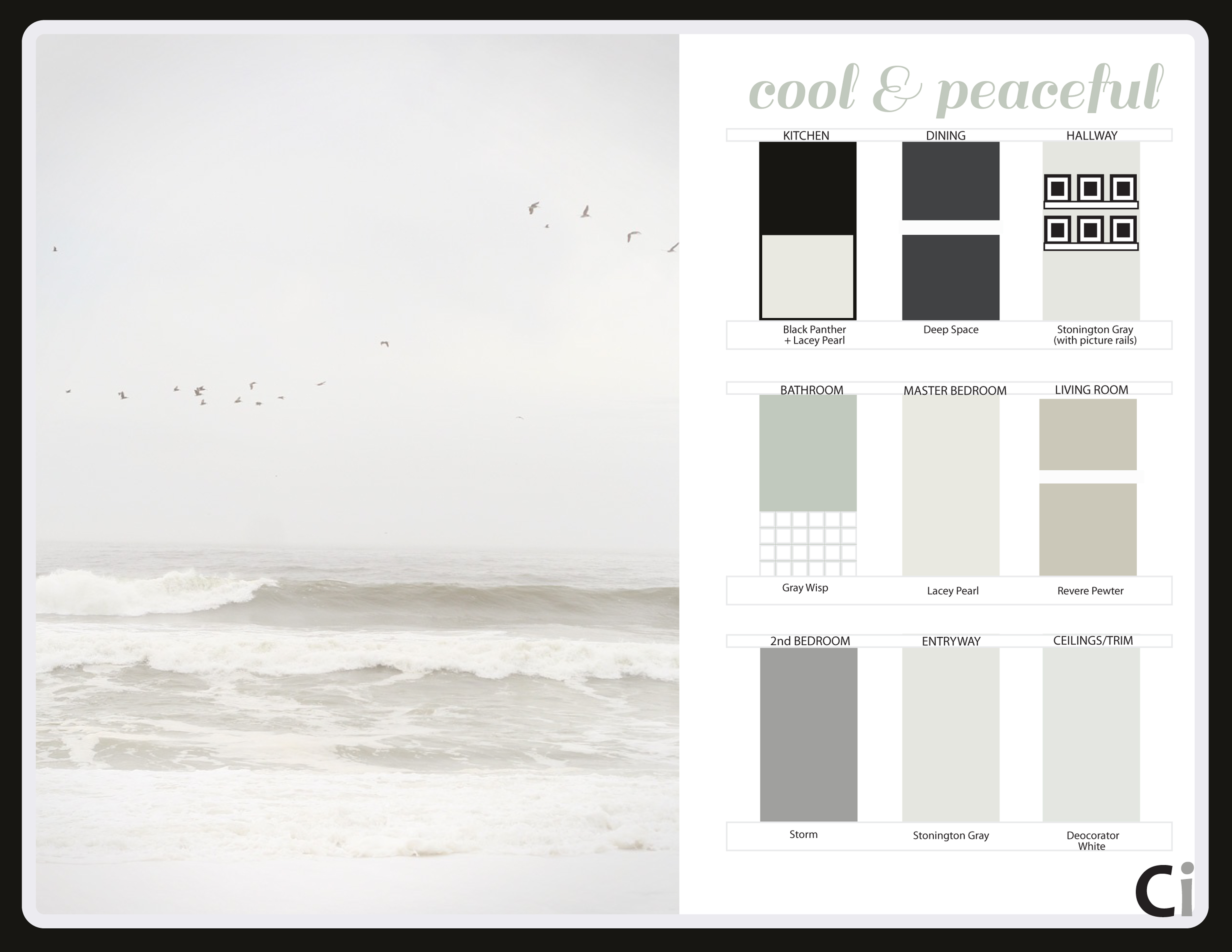 Cool Peaceful Paint Colors