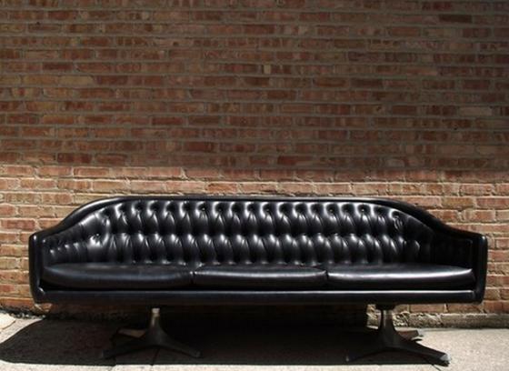 sofa noir